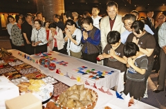 Cornerstone of Peace Memorial: Seimei Festival to pray for war dead