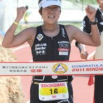 Miyakojima All Japan Strongman Triathlon won by Japanese