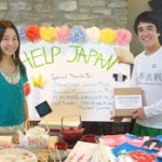 Raising money for victims of the Great East Japan Earthquake