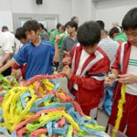 One million paper cranes converted to stationery and sent to conflict-torn regions