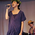 Singer UA sings for the Takae helipad campaign