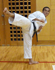 Fourteen year-old Tamaki selected as a member of Japan's national karate team