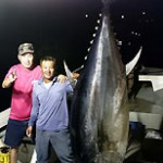 Giant bluefin tuna caught after six hours on the line