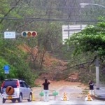 Typhoon No.9 rips through Okinawa in 46 hours injuring 51 people cutting power to 100000 households