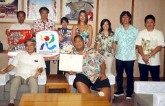 Konishiki becomes cultural ambassador for Okinawa