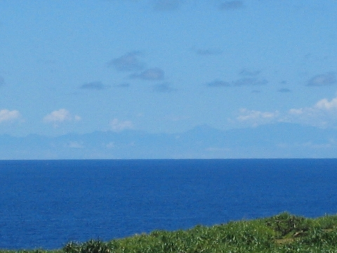 Yonaguni Island offers view of Taiwan on three consecutive days