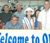 Regular flights between Naha and Guam recommence