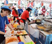 Inaugural A-lunch Championship held in Okinawa City.