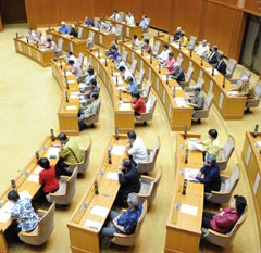Okinawa Prefectural Assembly unanimously moves to request that the government not submit the Henoko evaluation report