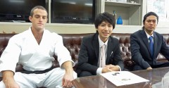 From March 2012 Yomitan Murasaki Mura will promote tourism with karate