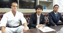 From March 2012 Yomitan Murasaki Mura will promote tourism with karate