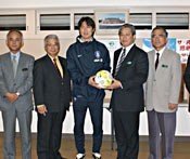 Aiming for the London Olympics - Korean national football squad in camp at Onna