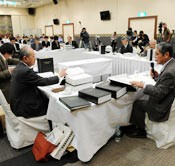 Okinawa Prefectural Board begins to review Defense Ministry's environmental impact assessment report for relocation of Futenma U.S. Marine Corps Air Station