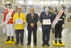 Renewed attention to traffic safety ― Mamoru-kun and Maruko-chan are registered as special residents