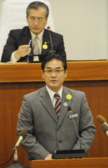 New Ginowan Mayor opposes the deployment of Osprey to Futenma Air Station