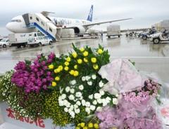 Special flight to carry chrysanthemums for <em>Higan</em>