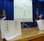 Symposium about unexploded ordnance held in Naha