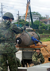 Disposal of unexploded ordnance at Shuri High School forces more than 2000 people to evacuate