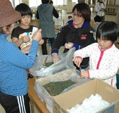 Spring gifts to disaster areas - first-pick tea to be sent from Oku in Kunigami