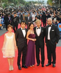 Okinawa International Movie Festival Opens - 350 movie stars and artists walk on the red carpet