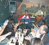 Bands perform in Henoko