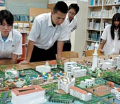 Model designed for the redevelopment of land occupied by Futenma Air Station