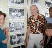 Former marine displays photographs taken 50 years ago