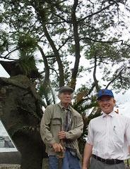 Shoji and Akira Yoshimi grow Okinawa pines in Kagoshima for the last 40 years