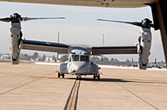 MV-22 Osprey vertical take-off and landing transport aircraft