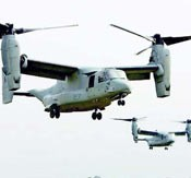 Marine Corps to operate Osprey aircraft all over Okinawa