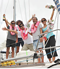 Kimura completes four-year circumnavigation of the world