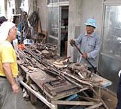 <em>Nakijin Gusuku Manabu Kai</em> makes canes out of mythical tree