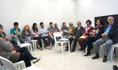Discussion about Okinawa under U.S. military occupation held at Brazil