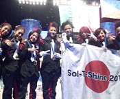 Sol-T-Shine wins at the World of Hip Hop Dance Championship