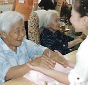 Events for Aged People's Day held around Okinawa