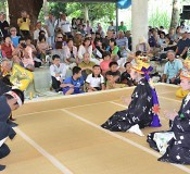 August dance festival held on Tarama wishing for a good harvest
