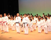 Karate and traditional martial arts symposium held in Naha