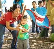 Members of the Okinawa-kai enjoy a picnic in Washington, DC