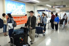 245 Thai tourists visit Okinawa