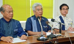 """Two U.S. sailors accused of rape.  Heads of Okinawa municipalities voice their indignation: """"The only way to resolve this problem is to remove the bases"""