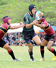 Koza wins a ticket to Hanazono in high school rugby