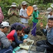 Nature tour held at Okuma River