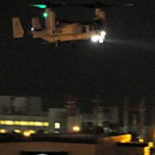 U.S. Marines conduct Osprey night flying training in violation of noise-prevention agreement