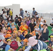 120000 people conduct evacuation drills in Okinawa