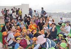 120000 people conduct evacuation drills in Okinawa