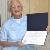 Okinawan-Canadian receives honorary degree after 70 years