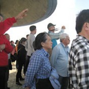 Peace Boat and Korean environmental foundation co-host a tour concerning U.S. military base issues in Okinawa