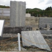 Monument honoring Shinjo Miyagi - father of the cultured oyster - to be restored