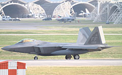 F-22 Raptors to Kadena Air Base