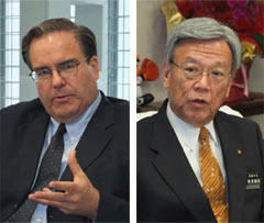 U.S. Consul-General apologizes to Naha Mayor for crimes
